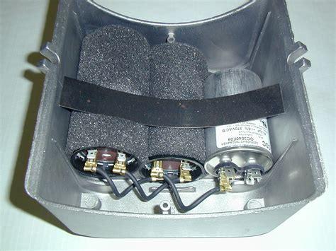 Baldor 5 Hp Capacitor Wiring by Baldor Capacitor Box Kit Compressor Parts 37cb5005a01