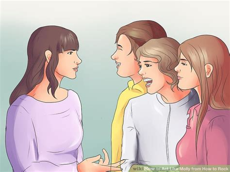 4 ways to act like molly from how to rock wikihow