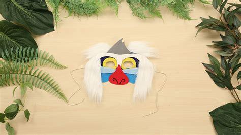 rafiki mask disney family