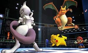 Super Smash Bros For 3DS Mewtwo 03 Game Idealist