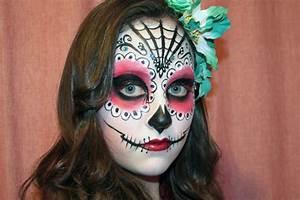 Maquillage D Halloween Pour Fille : halloween l 39 art du maquillage art de vivre ~ Melissatoandfro.com Idées de Décoration