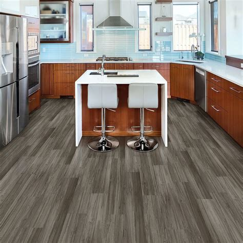 vinyl plank flooring diy love stainless steel appliances look at how well this quot dove maple quot color pattern complements