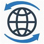 Global Icon Network Communication Globe Connection Icons