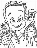 Coloring Pages Toy Story Disney Sitting Tree Monkeys Sheets Party sketch template