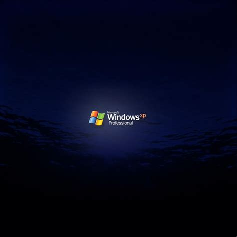 Windows Xp Pro Dark Water