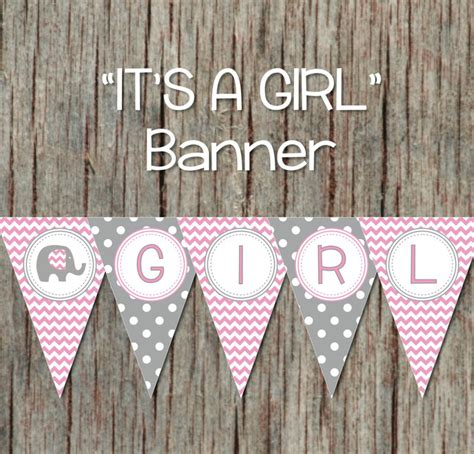girl baby shower banner  bumpandbeyonddesigns