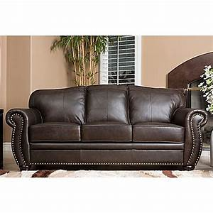 abbyson livingr palazzo sofa in brown bed bath beyond With palazzo sofa bed