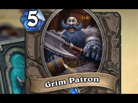 hearthstone decks warrior grim patron warrior grim patron abuse hearthstone