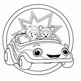 Umizoomi Team Coloring Pages Printable Umicar Getcoloringpages Nick Jr sketch template