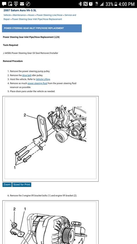 Hoses Saturn Aura Engine Diagram Downloaddescargar