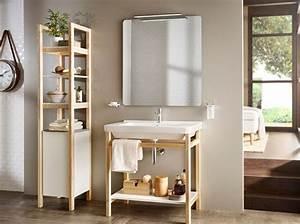 Armoire De Salle De Bain Ikea : 40 armoires de salle de bains elle d coration ~ Teatrodelosmanantiales.com Idées de Décoration