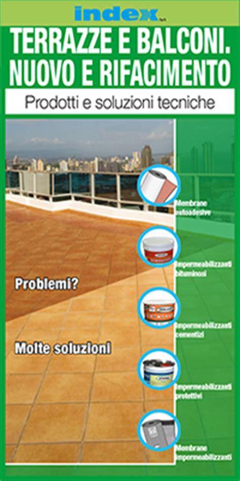 impermeabilizzanti per terrazze dettaglio stratigrafia rifacimento di terrazze senza