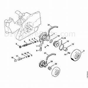 Stihl 026 Chainsaw  026  Parts Diagram  Oil Pump