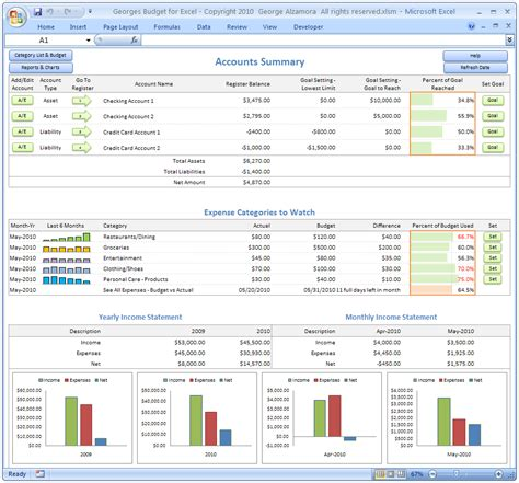 free finance spreadsheet excel budget spreadsheet personal budgeting software