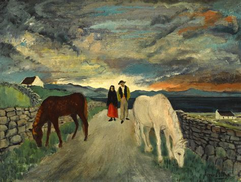 west  ireland couple  horses  gerard dillon