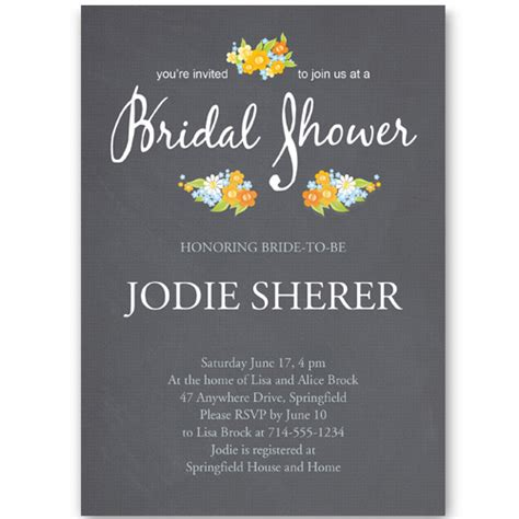 wedding shower invitations inexpensive modern bridal shower invitation ewbs043 as low as 0 94