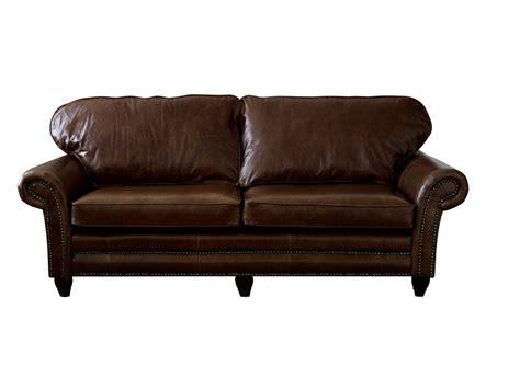 traditional leather sofa cromwell the sofa company