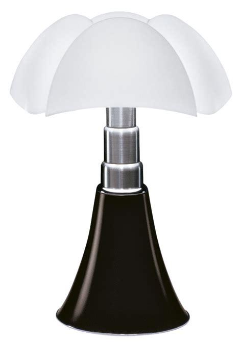 table lamp pipistrello  martinelli luce whiteblack   design uk