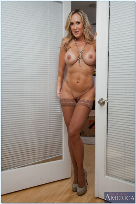 Lovely Blond MILF Boned In The Study Room Photos Brandi