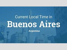 Current Local Time in Buenos Aires, Argentina