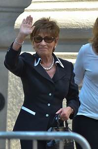Judge Judy Photos Photos - Joan Rivers Memorial Service ...