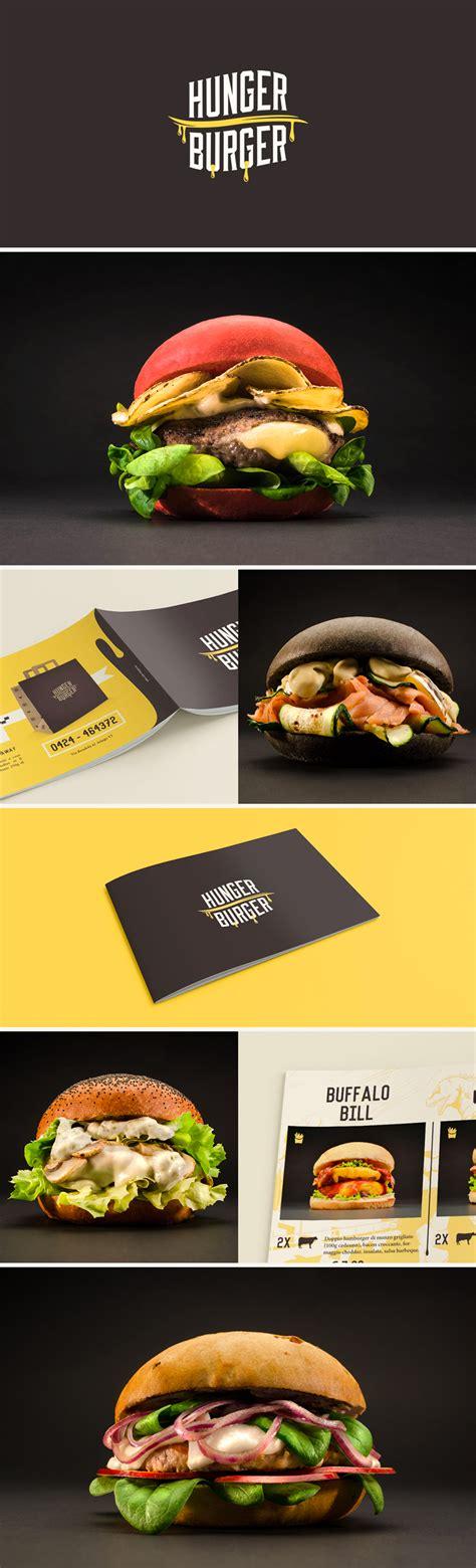 hunger burger branding wwwofmagnetcom graphic design