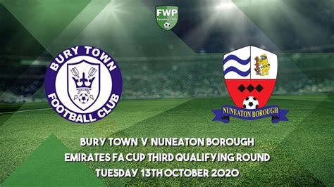 Emirates FA Cup Third Qualifying Round | Bury Town 2 - 0 ...