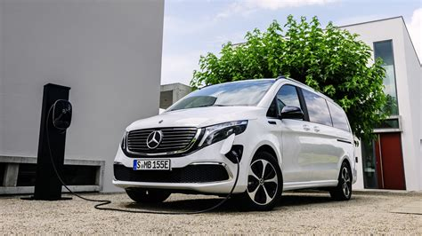 The new plus factor for business. Mercedes-Benz EQV electric minivan revealed