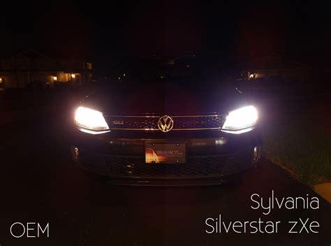 sylvania bulbs silverstar headlight zxe halogen xenon tested vs oem hid