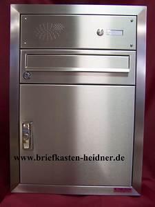 Briefkasten Mit Klingel Aufputz : uph30 knobloch unterputz paket briefkastenanlage 2 tlg 1 klingel edelstahl ~ Yasmunasinghe.com Haus und Dekorationen
