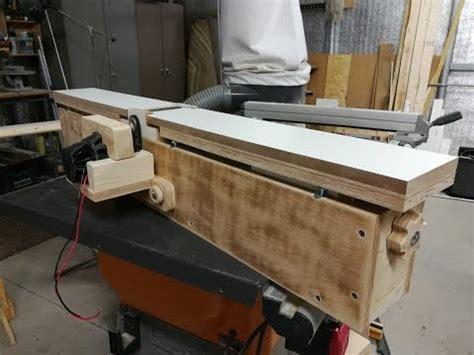 homemade jointer build part  youtube