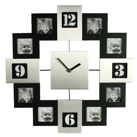 luminaire cuisine horloge cadre photo silver et