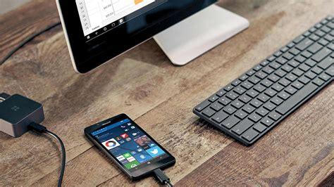 funkcja windows continuum dla smartfon 243 w i urządzeń przenośnych z systemem windows 10 microsoft