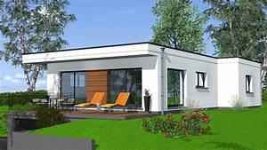 Maison Moderne Toit Plat : construction maison de plain pied maisons begi ~ Nature-et-papiers.com Idées de Décoration