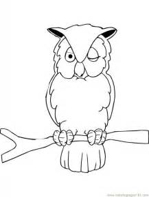 Owl Animal Coloring Pages