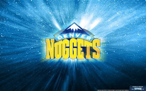 denver nuggets logo wallpaper posterizes nba