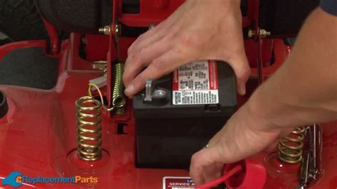 charge  lawn tractors battery youtube