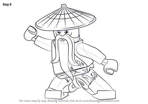 learn   draw master wu  ninjago ninjago step