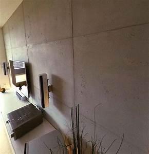 Wand In Betonoptik : wohnideen wandgestaltung maler wand in betonoptik mit betonputz in frankfurt wiesbaden mainz ~ Sanjose-hotels-ca.com Haus und Dekorationen