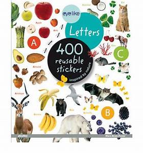 eyelike stickers letters 400 reusable stickers inspired With reusable letter stickers