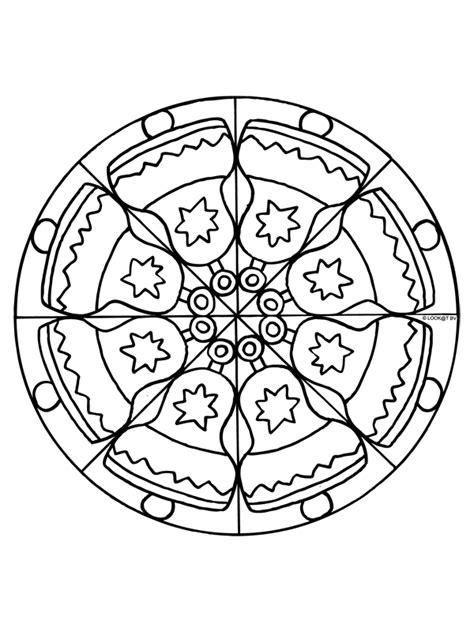 Kleurplaat Mandala Kerst kleurplaat kerst mandala kleurplaten nl