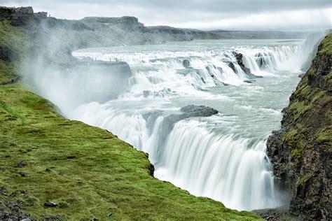 Gullfoss Waterfall Backgrounds by Gullfoss Falls