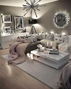 30, Charming, Gray, Living, Room, Design, Ideas, For, Your