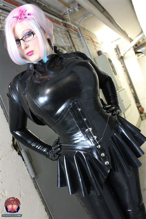 mystic secret latex top