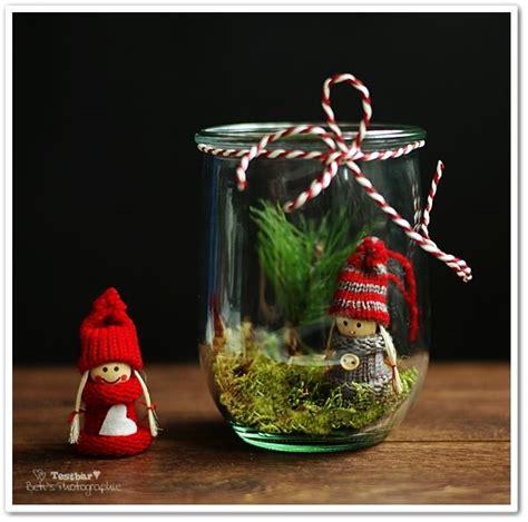 weihnachtsdeko im glas weihnachtsdeko selbstmachen deko im glas winter und