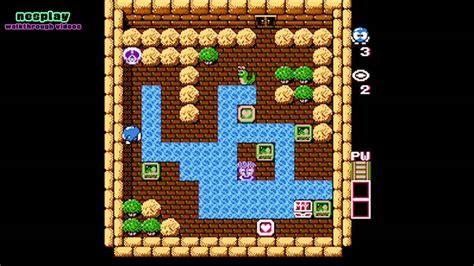 Adventures Of Lolo Walkthrough [floor 6-4]
