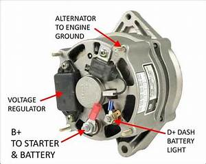 If I Disconnect The D  Wire On My Car U0026 39 S Alternator  Will