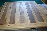 table tops wood Reclaimed BARN WOOD Table Top 30X30 Urban Rustic ...