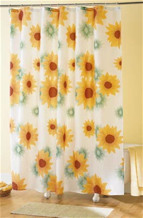 sunflower shower curtain sunflower bathroom decor bclskeystrokes