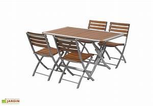 Table Jardin Pliable : table jardin pliante bois aluminium acapulco 140x80 table pliante aluminium et bois 140x180 ~ Teatrodelosmanantiales.com Idées de Décoration